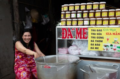 Đá me, đặc sản Nam Du