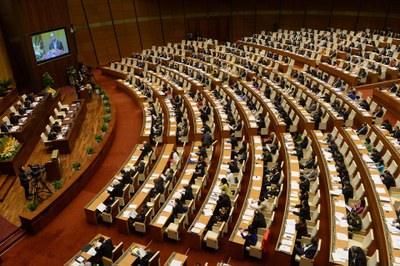 Một trong những cuộc họp của Quốc hội Việt Nam. (ảnh minh họa)